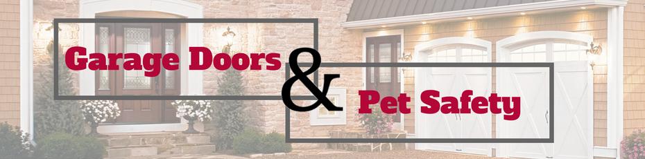garage door pet safety