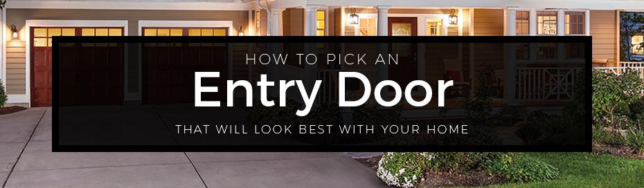 how pick entry door