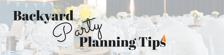 backyard party planning tips