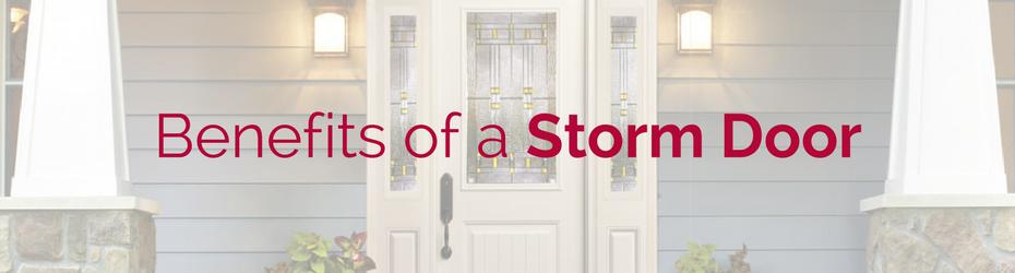 benefits storm door