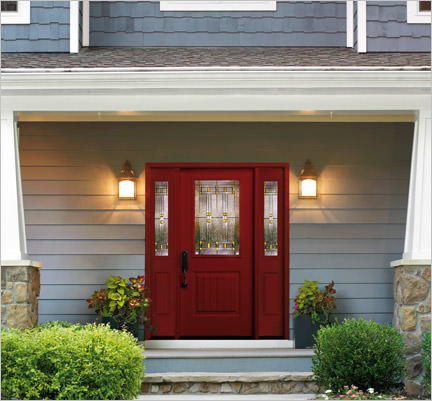 residential front doors red. Entry Doors Residential Front Red F