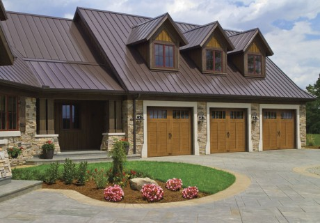 Canyon Ridge® Carriage House 5-Layer garage doors