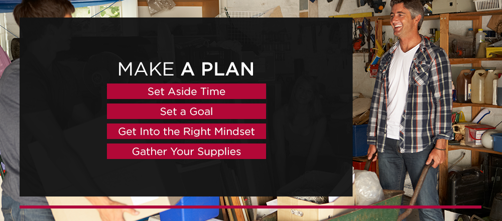 Make a Plan: Set Aside Time, Set a Goal, Get into the Right Mindset, and Gather Your Supplies