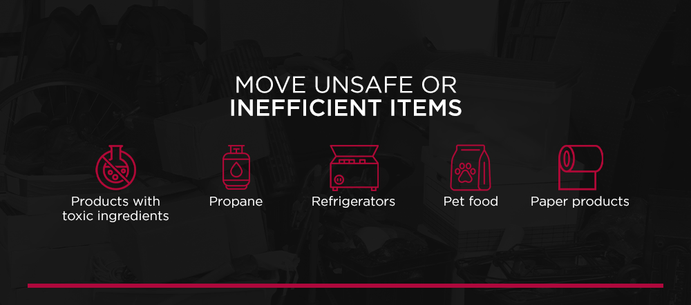 Move Unsafe or Inefficient Items