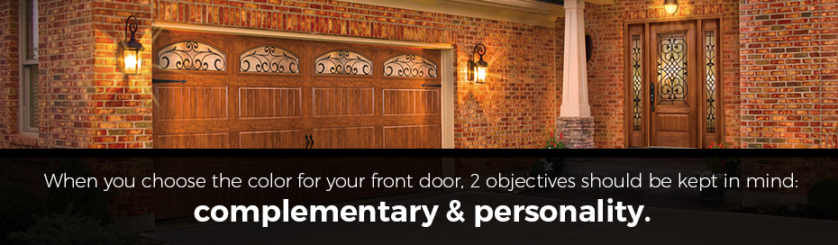 complementary personality entry door