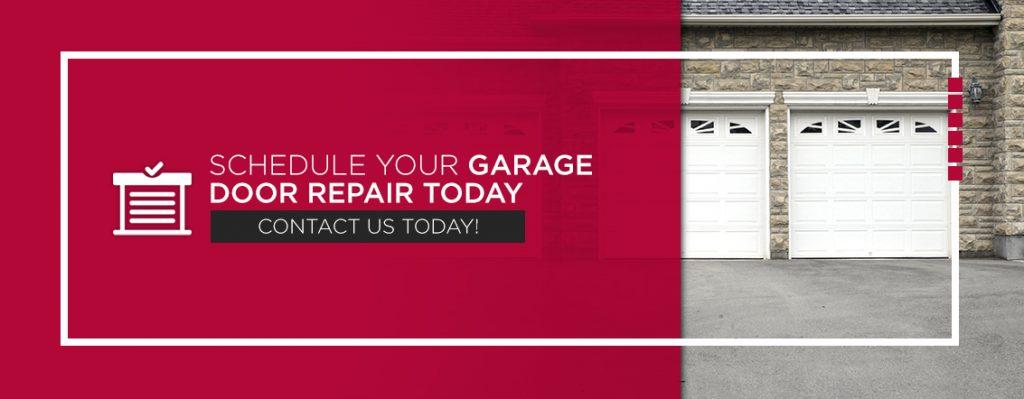 Schedule Your Garage Door Repair Today. Contact Us.