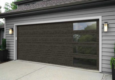 Modern Steel™ Collection garage doors