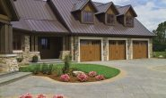 Canyon Ridge® Carriage House (4-Layer) garage doors