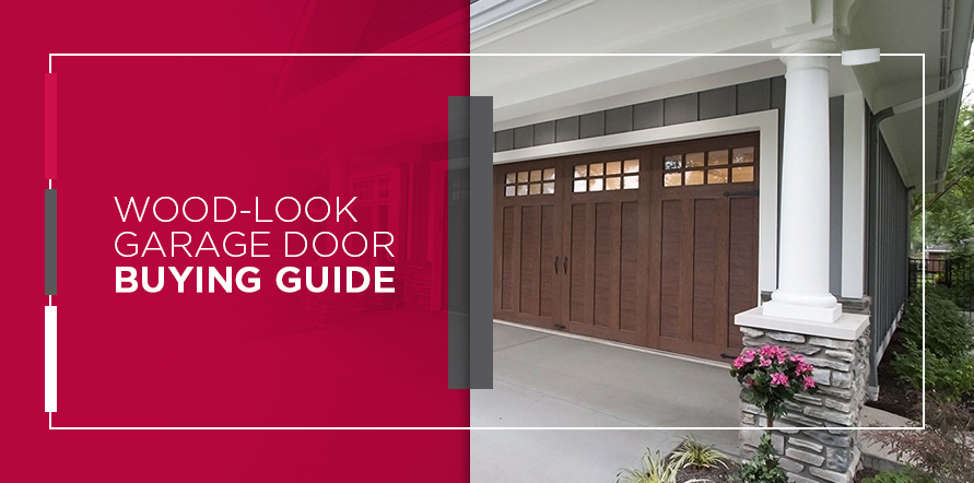 Wood-Look Garage Door Buying Guide