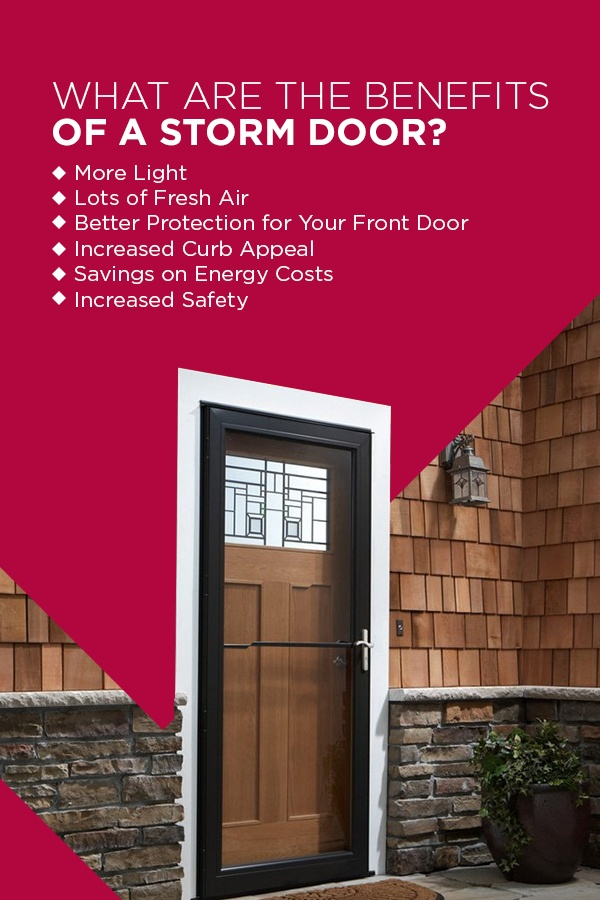 benefits of Toledo storm door