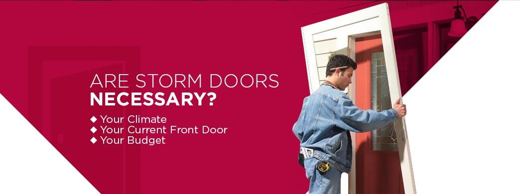 importance storm doors Toledo OH