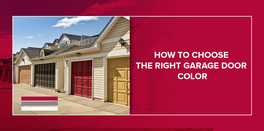 How to Choose the Right Garage Door Color