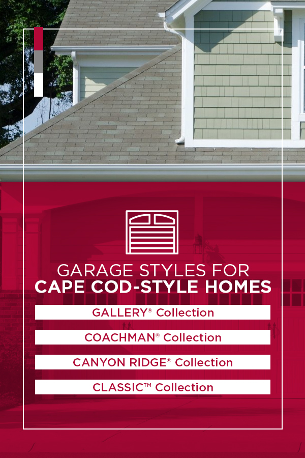 Garage Styles for Cape Cod-Style Homes