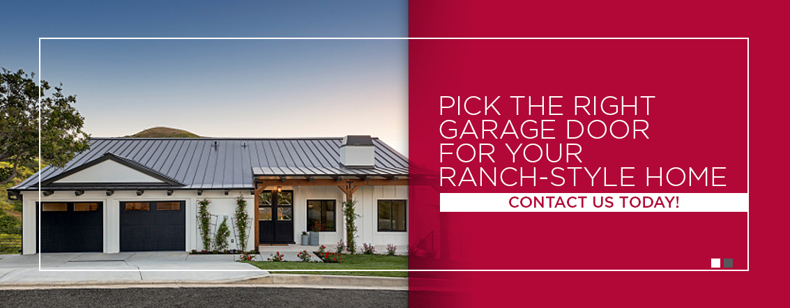 Pick-the-Right-Garage-Door-for-Your-Ranch-Style-Home