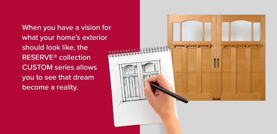 When you have a vision for what your home's exterior should look like, theRESERVE®collectionCUSTOMseries allows you to see that dream become a reality.