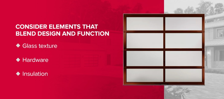 Consider Elements that Blend Design and Function
