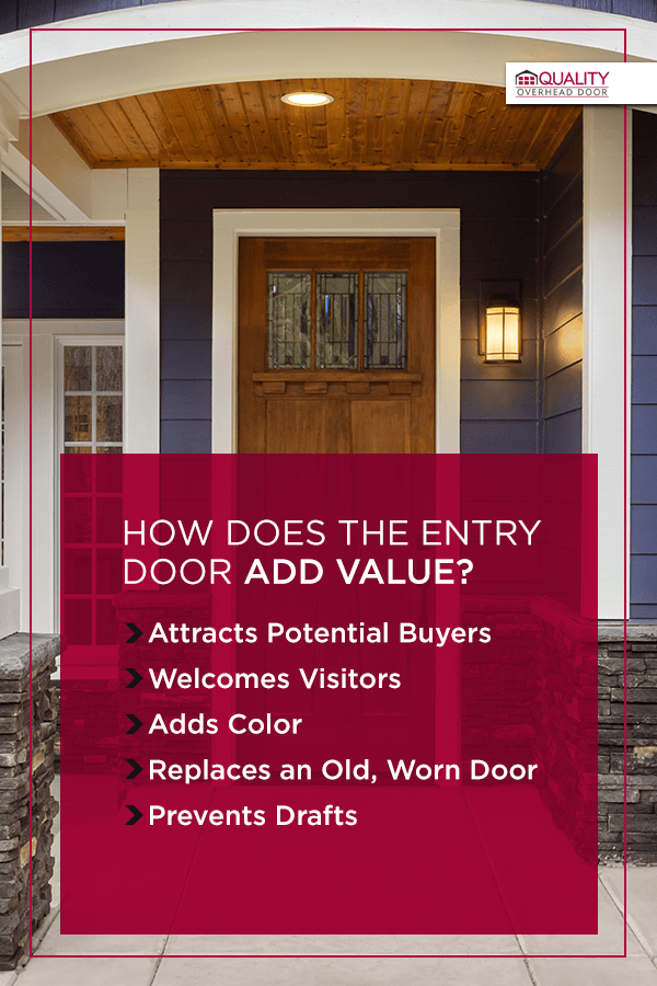 How Does the Entry Door Add Value?