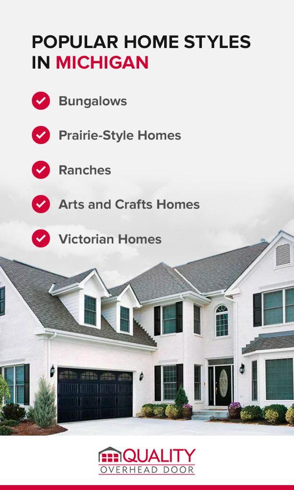Popular Home Styles in Michigan