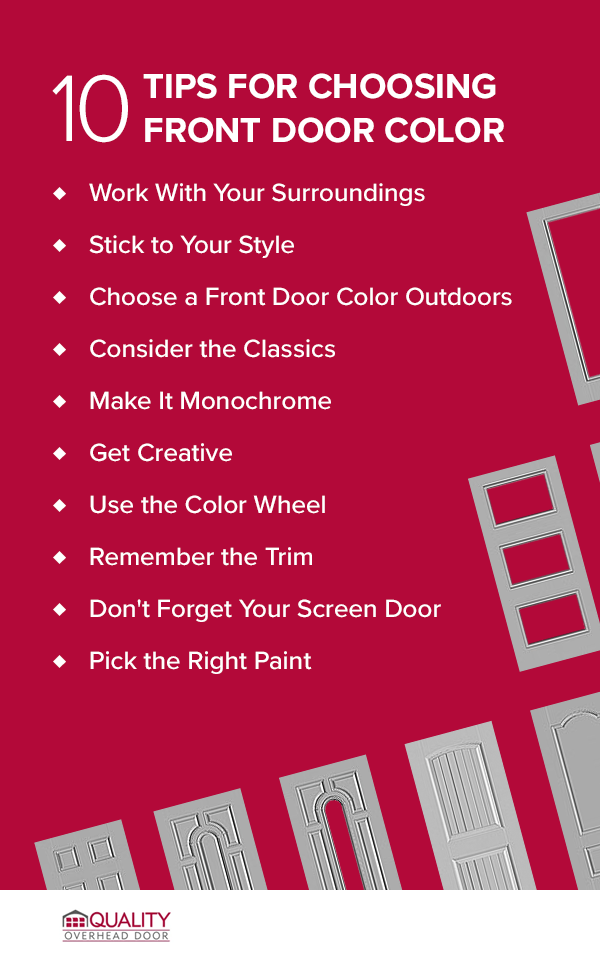 10 Tips for Choosing Front Door Color