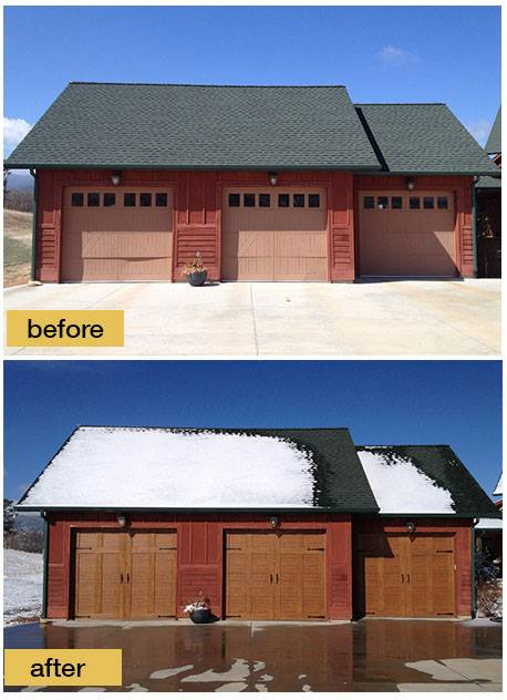 View Our Before Amp After Pictures Quality Overhead Door